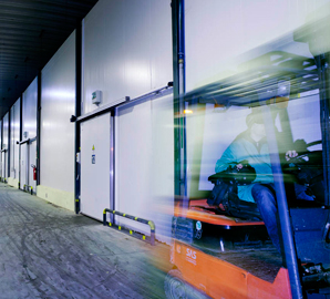 Isothermal Doors for Cold Rooms